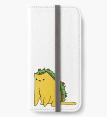 Tacocat: the cat who is a taco iPhone Wallet/Case/Skin