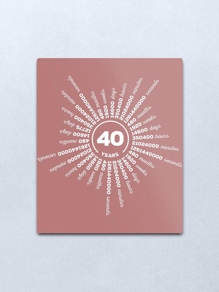 40 Jahre Hochzeit Bedeutung Rubin