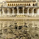 Pichola Reflection 01 by Werner Padarin