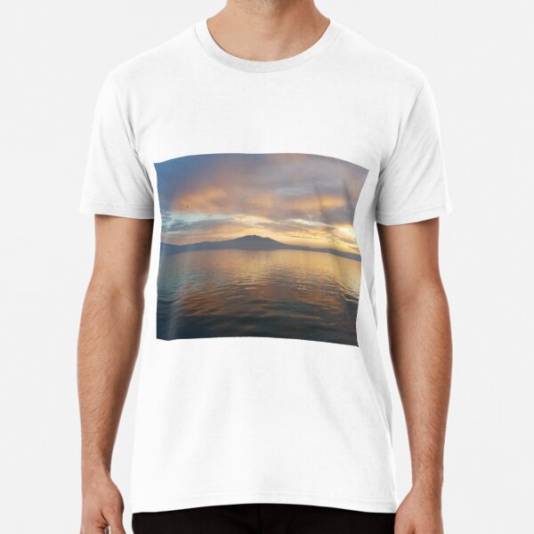 Sunset on Lake Chapala Premium T-Shirt