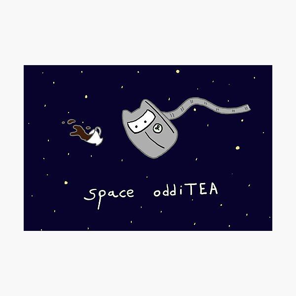 space oddiTEA Photographic Print