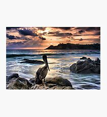 Sunset in Puerto Escondido Photographic Print