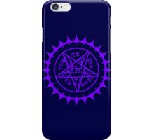 Black Butler Ciel's pentacle iPhone Case/Skin