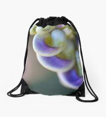 The Corkscrew Flower Drawstring Bag