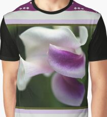 The Unusual Corkscrew Flower   Graphic T-Shirt