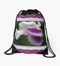 The Unusual Corkscrew Flower   Drawstring Bag