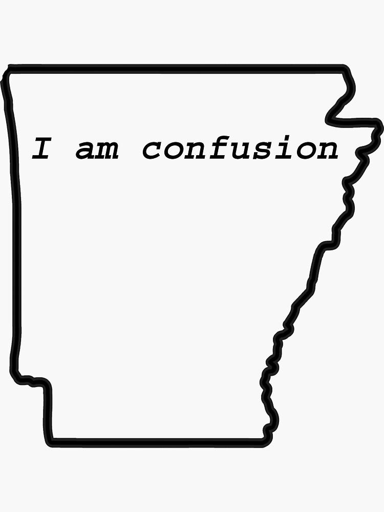 Warum ist das ein Kansas, und das ist nicht Arkansas? von jackiekeating