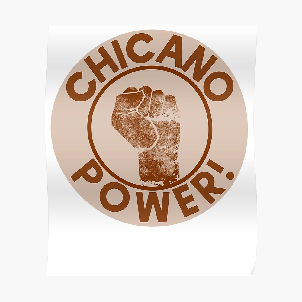 Chicano Power Poster