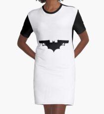 Bat-Gun Graphic T-Shirt Dress