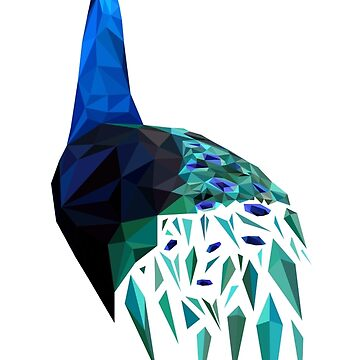 Poly Peacock by arianazhang