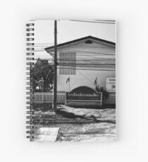 Power Lines In Thailand Spiral Notebook