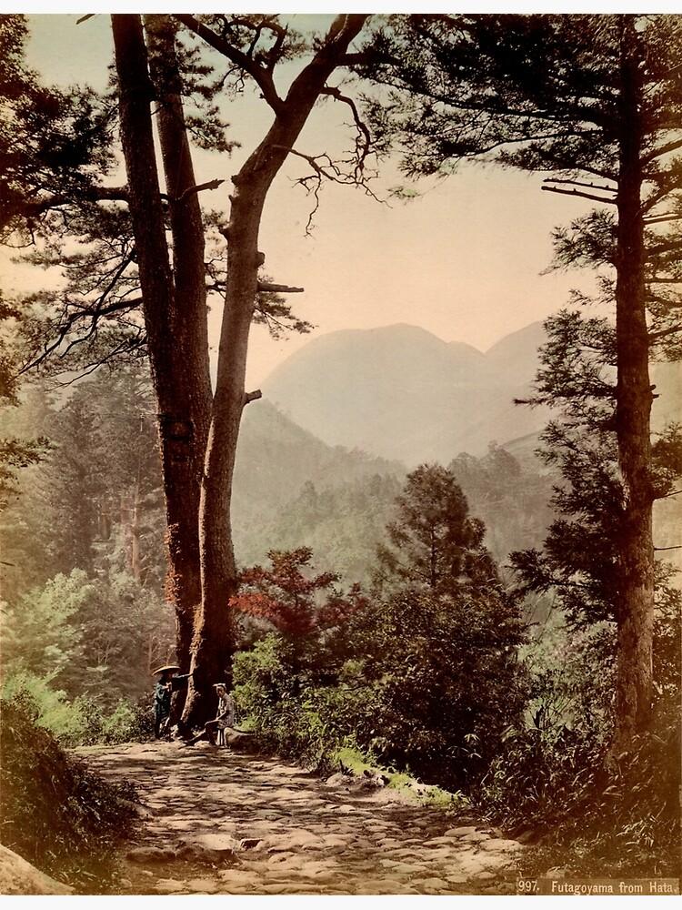 A view of Futagoyama from Hata, Japan by Fletchsan
