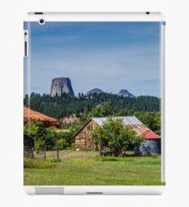 Devils Tower - Scenic Back Roads iPad Case/Skin