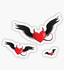 Evil hearts Sticker