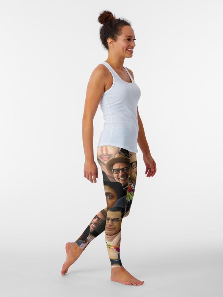 Alternate view of Jeff goldblum  Leggings