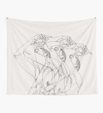 Out of Body (beige)  Wall Tapestry