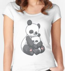 Panda Hug Women's Fitted Scoop T-Shirt