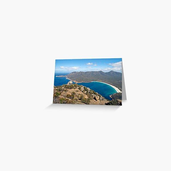 BEAUTIFUL WINEGLASS BAY Greeting Card