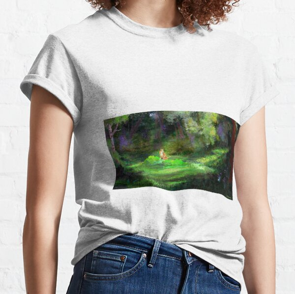 Fox In The Forest Classic T-Shirt