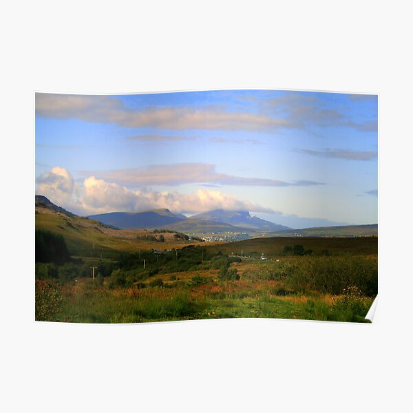 A view to Storr Poster