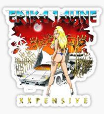 ERIKA JAYNE THE BEST SINGER Sticker