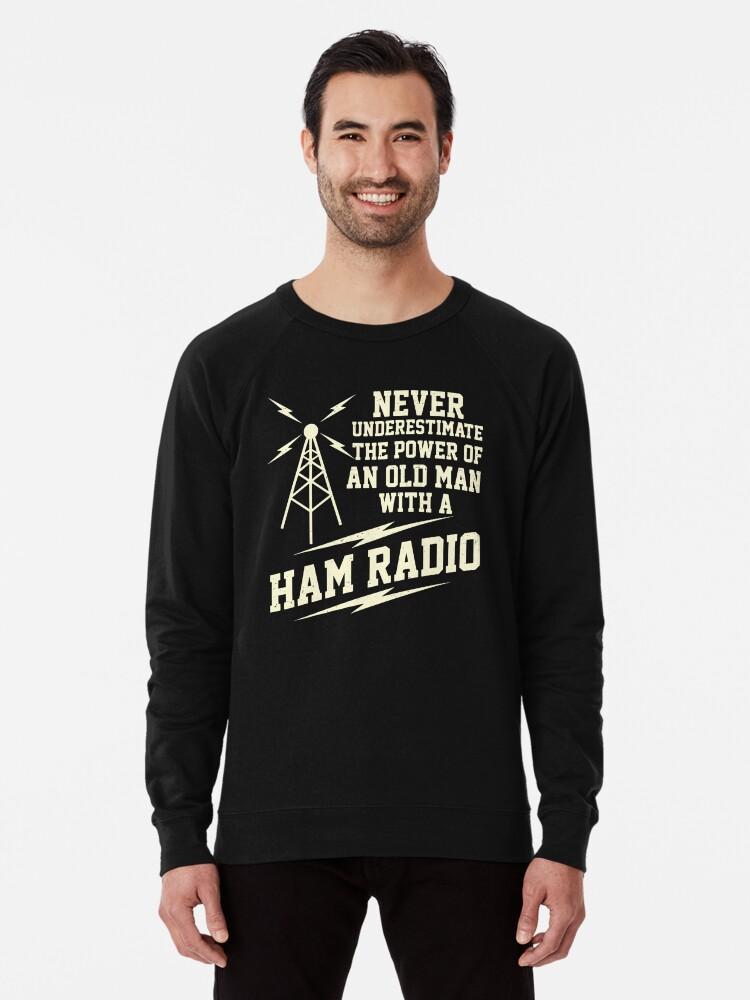 Superheterodyne Old School Radio Operator Lustiges HAM Radio Sweatshirt
