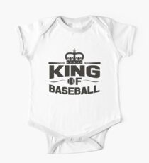King of baseball Kids Clothes