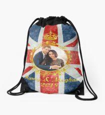 Prince Harry and Meghan Markle Drawstring Bag