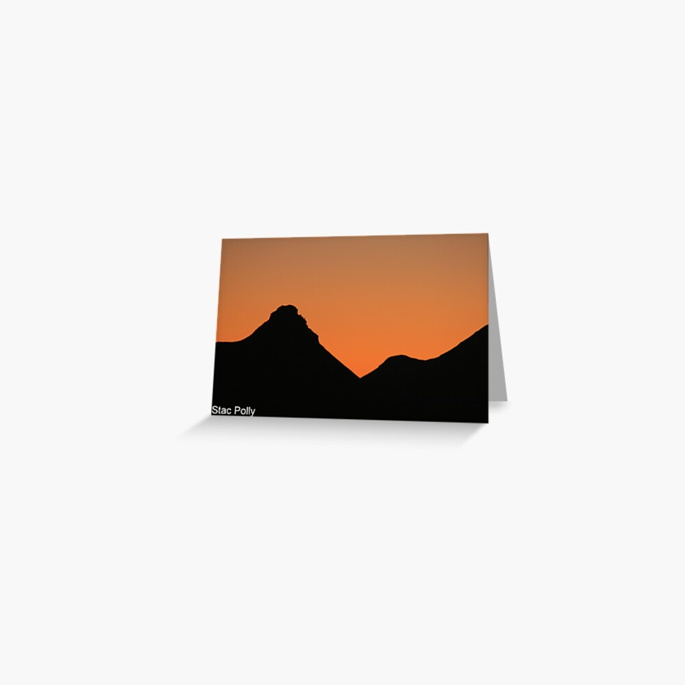 Stac Polly 8 Greeting Card