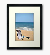 Vacation Framed Print