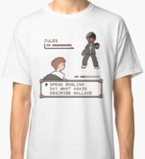 Jules Winnfield - Pulp Fiction Quotes Classic T-Shirt