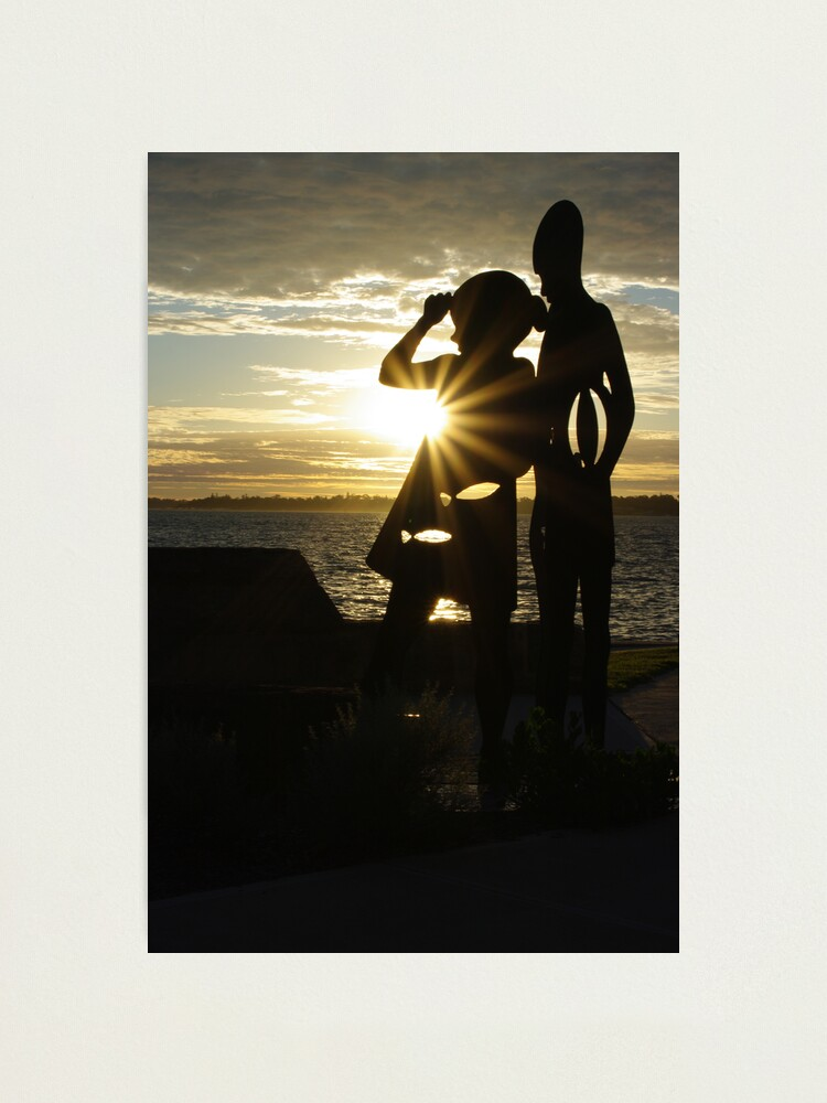 Alternate view of Como Beach I Photographic Print