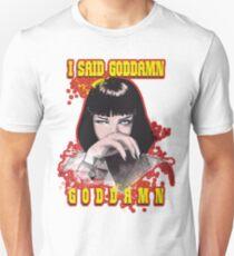 Uma Thurman, Pulp Fiction Unisex T-Shirt