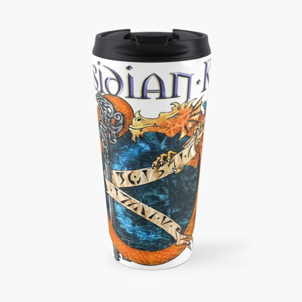 Obsidian Key - SLY Dragon - Progressive Rock Metal Music - (Epic Style) - FD Travel Mug
