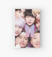 BTS Group PHOTO Case / Poster ECT ( Selfie ) With Logo 2018 Hardcover Journal