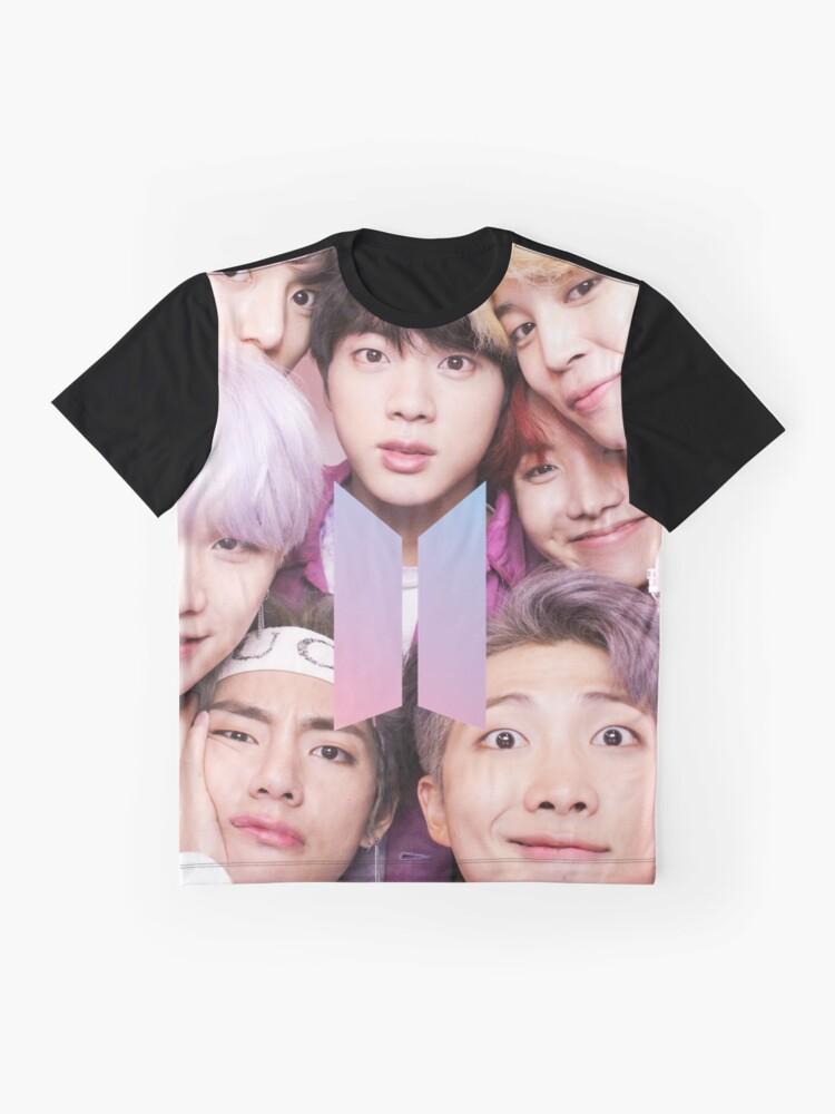Vista alternativa de Camiseta gráfica BTS Group PHOTO Case / Poster ECT (Selfie) con logotipo