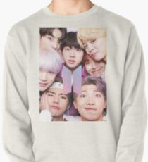 Sudadera sin capucha BTS Group PHOTO Case / Poster ECT (Selfie) con logotipo
