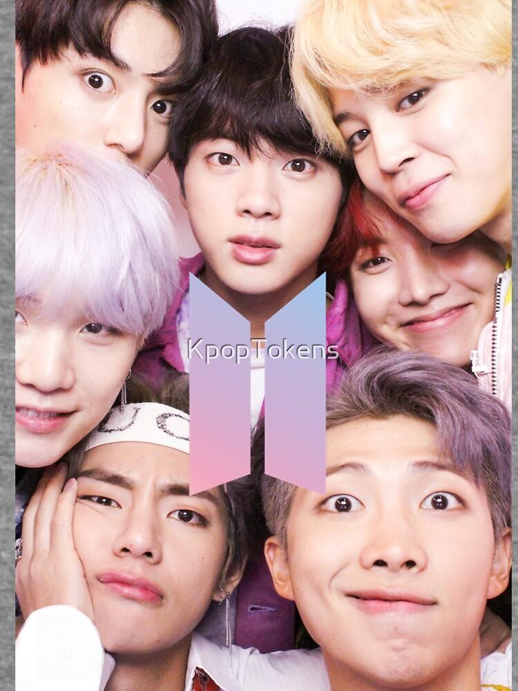 BTS Group PHOTO Case / Poster ECT (Selfie) con logotipo de KpopTokens