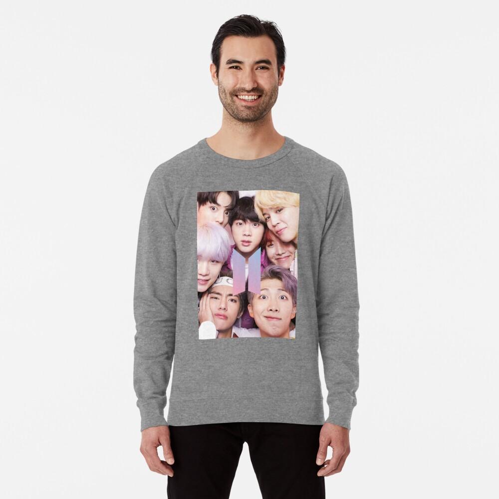 BTS Group PHOTO Case / Poster ECT (Selfie) con logotipo Sudadera ligera