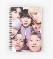 BTS Group PHOTO Case / Poster ECT ( Selfie ) With Logo 2018 Spiral Notebook