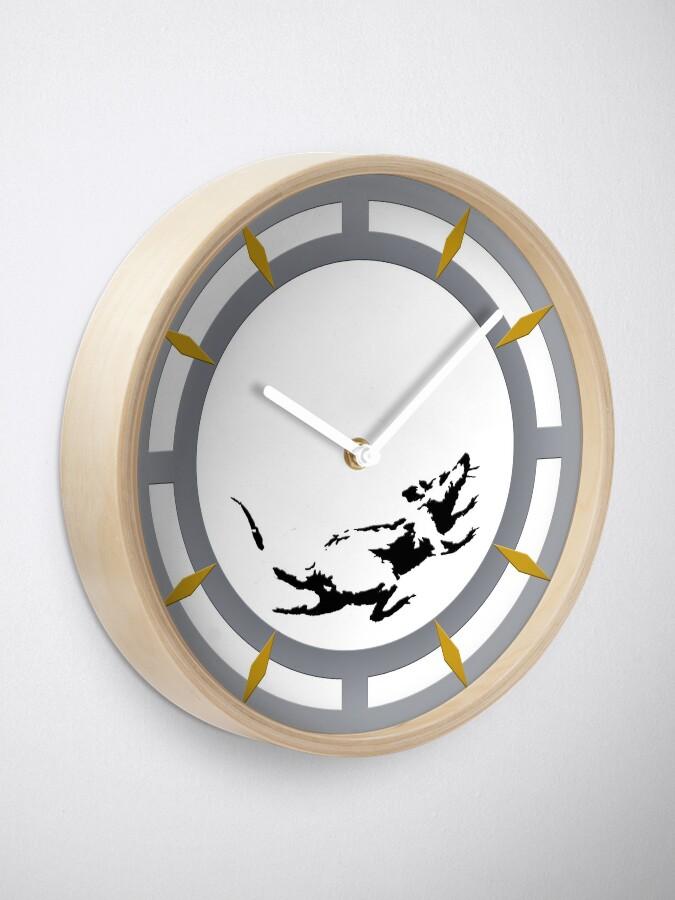 Vista alternativa de Reloj Reloj inspirado en el reloj de raton Banksy