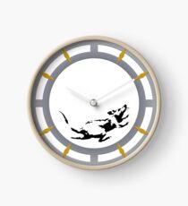 Reloj Reloj inspirado en el reloj de raton Banksy