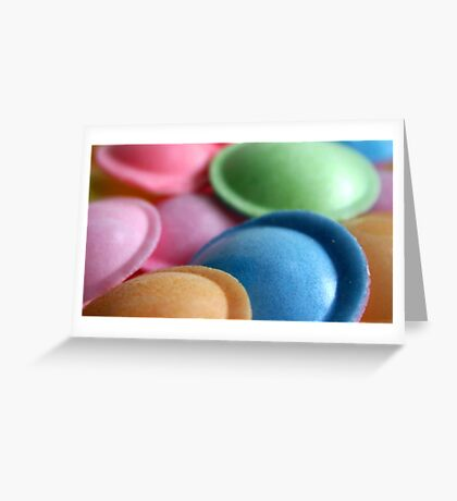 Flying Saucers Greeting Card