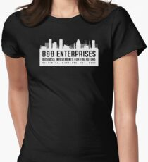 The Wire - B&B Enterprises - White Women's Fitted T-Shirt