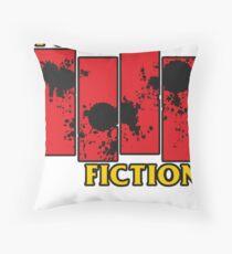 Pulp Fiction Paiting Throw Pillow