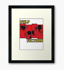 Pulp Fiction Paiting Framed Print