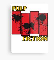 Pulp Fiction Paiting Metal Print