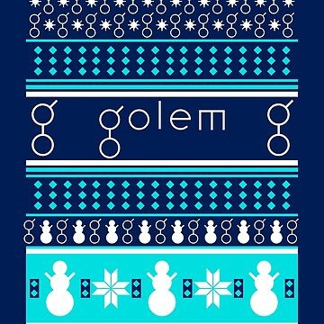Golem Network Ugly Sweater by chrisfrewin