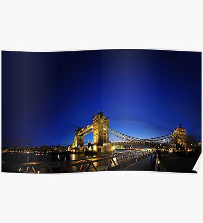 London Tower Bridge No. 1.000.001 Poster