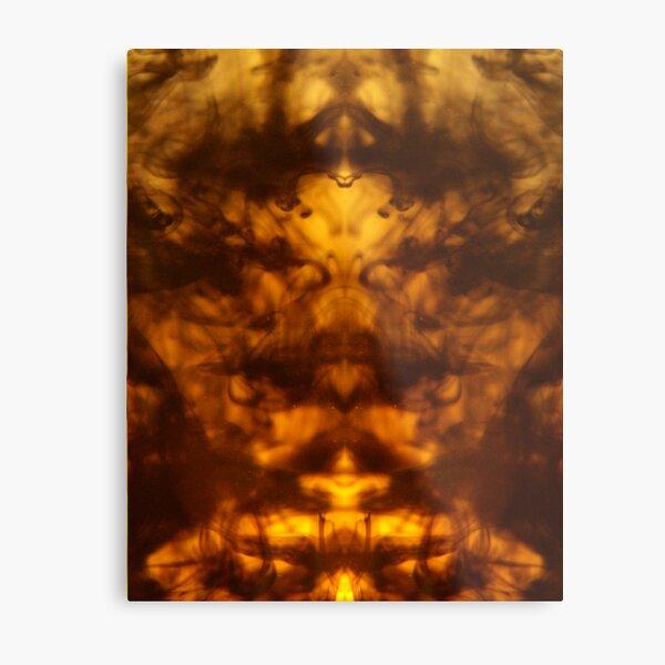 INCAL Fractal Metal Print